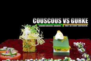 Couscous VS Gurke